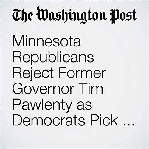 Minnesota Republicans Reject Former Governor Tim Pawlenty as Democrats Pick Historic Nominees copertina