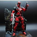 Modelo De Animex-Men Deadpool Loose Action Figure Collection Mobile Toy Movie Kids Gifts 18Cm