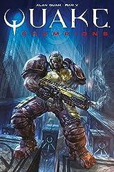 Quake Champions Comic cover