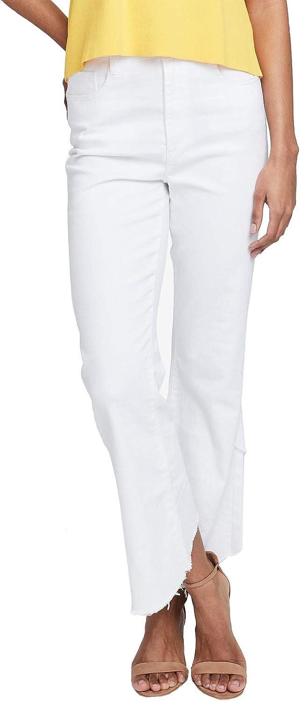 RACHEL Rachel Roy, Frayed Ankle Jeans, White Rinse
