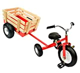 All Terrain Tricycle with Wagon (Red), CART-042R