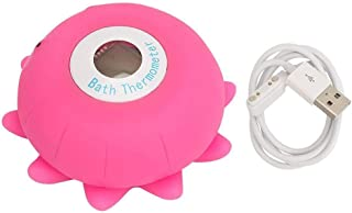 NXYWDJ Baby Water Temperature Meter Bath Baby Toy Thermometer Artifact Pink Thermometer for Infants Toddlers Kids