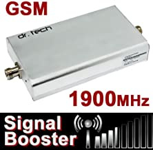 Dr Tech Cell Phone Wireless Signal Booster for Home or Office , 3G & 4G 1900MHz , for Sprint Corporation , CDMA LTE WiMax (1850-1910 1930-1990) , Single Band