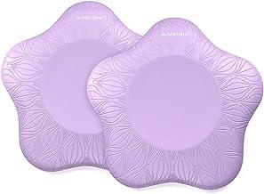 Fdrirect 1 par de almofadas de joelho para ioga, almofada de apoio confortável, formato de estrela de cinco pontas, espuma...