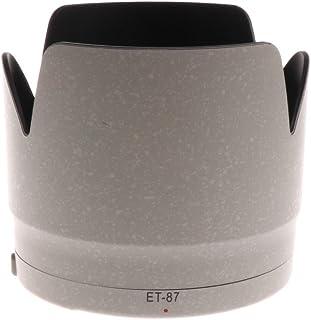 H HILABEE プロ 交換用 レンズフード ET-87 キヤノン70-200mm 2.8 L IS II USMカメラ用 ABS
