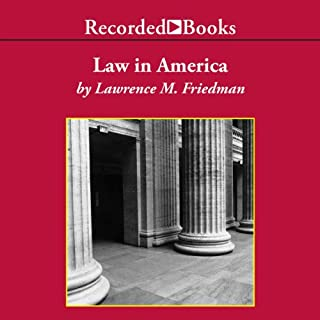 Law in America audiobook cover art