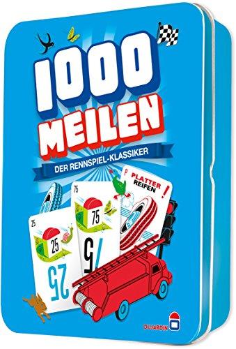Asmodee Dujardin 002789 - Kartenspiel - 1.000 Meilen