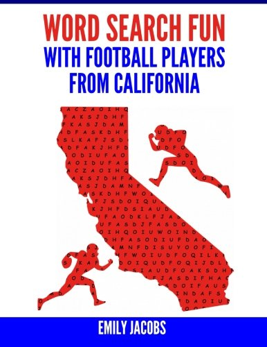 Word Search Fun with Football Players from California