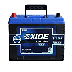 Excide Edge Flat Plate Battery