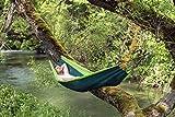 Hängematte Silk Traveller Fallschirmseide grün – Belastbar bis 150 Kg - 3