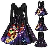 Vestidos de Playa Mujer Vestidos Mujer Casual Invierno Fiesta Vestido de Lana Mujer Invierno Vestidos Nochevieja Mujer Tallas Grandes Vestido Mujer Coctel Vestidos Largos Mujer Verano 2021 DF60