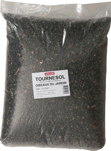 Graines de tournesol sac de 12 kg pour oiseaux de la nature/ZOLUX