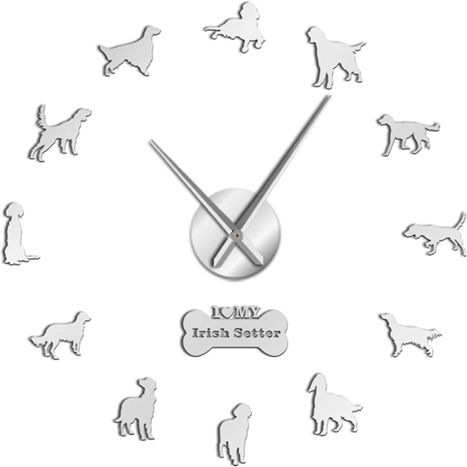 Now free shipping Xinxin Wall Clock Exclusive excellence Irish Effect Mirror Setter DIY Large