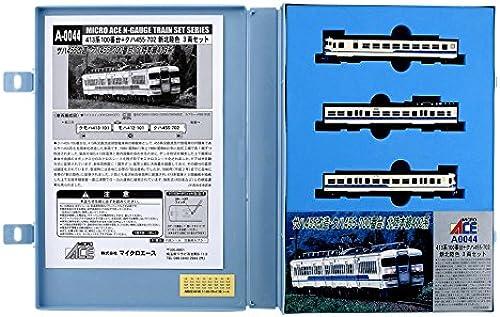 Series 413-100 + Kuha 455-702 New Hokuriku Farbe (3-Car Set) (Model Train)