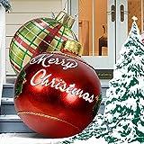 Bola decorada inflable de Navidad al aire libre,Bola decorada inflable de pvc de Navidad...