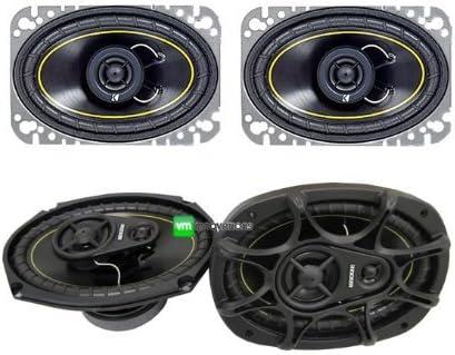 "NEW KICKER DS46 4x6"" 100W 2 Way Car Speakers + KICKER DS693 6x9"" 280W Speakers"