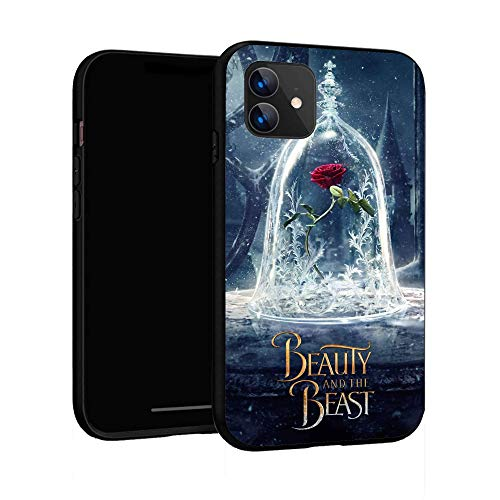 iPhone 11 Case 6.1',Case Cover for iPhone 11 (Beauty-and-The-Beast-2)