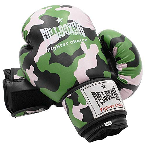 Softee Equipment PAR DE Guantes Boxeo FULLBOXING Camuflaje, Estampado, Talla Única