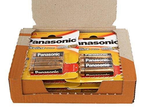 Panasonic POWER LR03 AAA - Pack de 48 pilas alcalinas