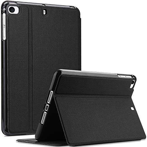 ProCase for iPad Mini 1/2 / 3/4 / 5 Case, Shockproof Lightweight Slim Stand Protective Case Folio Cover –Black
