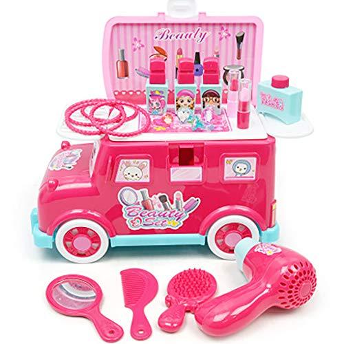 Luccase Schminktisch Spielzeug Set Weihnachts Geschenk Bus Spielzeug Frisierkommode Spielzeug Set...