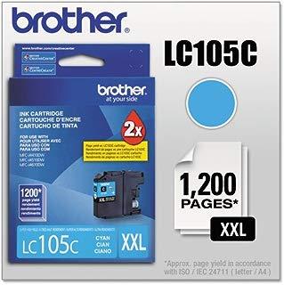 Cartucho Brother - Ciano - LC105C
