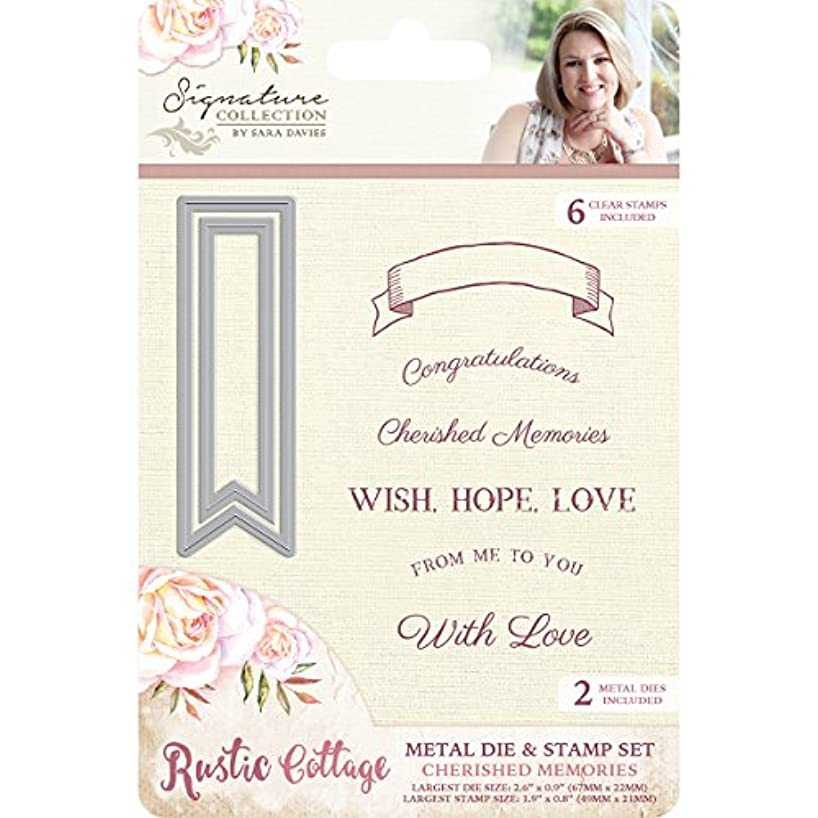 Cc International S-RC-MDS-Cher Rustic Cottage Die and Stamp Cherished Memories