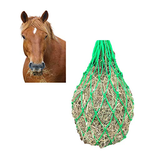 Luaury Slow Feed Hay Net for Horse Right Size Stuff