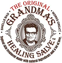 Grandma's Healing Salve an Old Fashioned Black Drawing Salve or Ointment,Customers reflect it may help with Cuts, Burns, Boils, Ingrown nails, Warts, Wounds, Infections, and MRSA. For people and Pets.