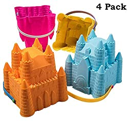 Sandcastle Molds
