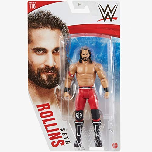 WWE - Series 116 - Seth Rollins - Action Figure, bring home the action of the WWE - Approx 6'
