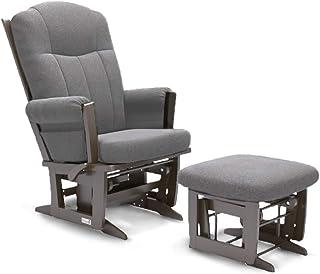 Dutailier Erie 0590 Technogel Glider Chair with Ottoman
