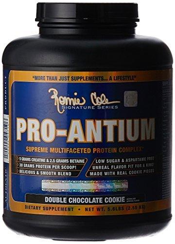 RCSS Pro-Antium Protein Eiweiß Proteinshake Eiweißshake Regeneration Muskelaufbau Bodybuilding (2150g Double Chocolate)