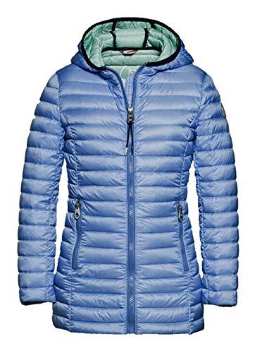 Reset Jungen Kinder Daunenjacke Longer Ultra Light Down Jacket Sommer blau Blue Gr. 128-176 8-16 Jahre (116)