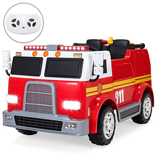 Best Choice Products 12V RC Fire Truck...