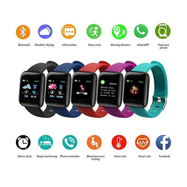 Edhua 116 Plus Pulsera Actividad, Smartwatch HD Touch Screen Fitness Tracker, Pulsera Inteligente, Sport Fitness Tracker… 7