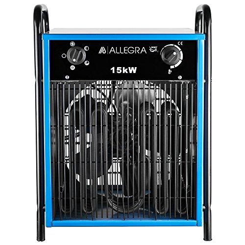 ALLEGRA AB-H150 Elektroheizlüfter Heizlüfter Bauheizer 15 KW