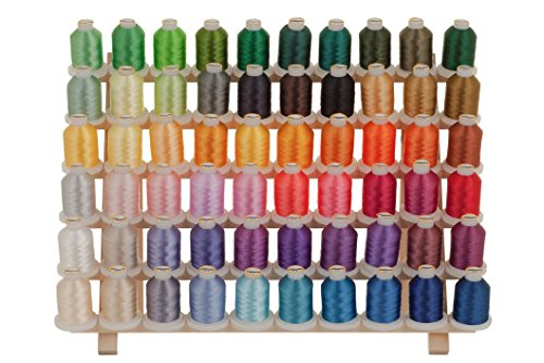 61 Thread for Brother Disney Embroidery Machine   RACK