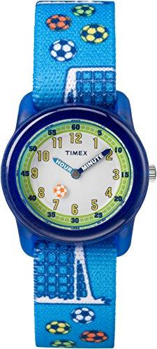 Timex TW7C16500 Jungen-Armbanduhr mit Quarz-Uhrwerk, Analoganzeige und Textil-Uhrenband