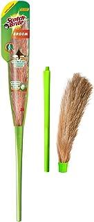 Scotch-Brite No-Dust Fibber Broom (Multi-Purpose, Green)