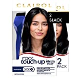 Clairol Root Touch-Up by Nice'n Easy Permanent Hair Dye, 2 Black Hair Color, 2 count