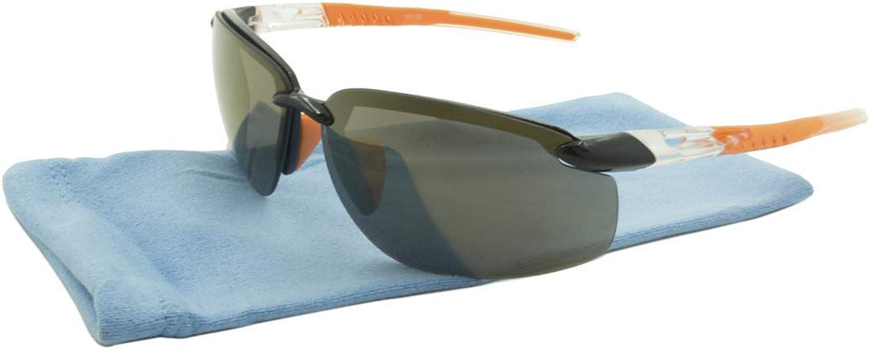 Alta Vision Sunglasses  Sport Tahoe Frame  Black and orange Lens  BrownLR169139ORG
