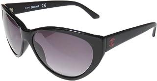Just Cavalli Women's JC490S Acetate Sunglasses BLACK 60