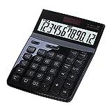 MTFZD Calculadora Calculadora Escritorio con Pantalla De 12 Dígitos Calculadora Funcional Básica Estándar Portátil para Suministros Escolares, Oficina Y para El Hogar