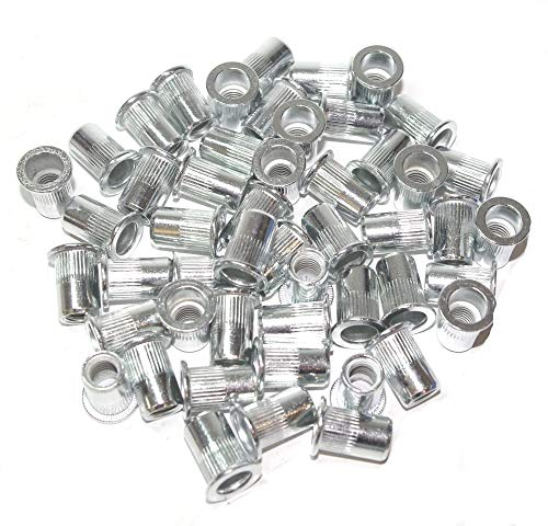 A-RM8 Surtido de tuercas remachables M8 aluminium 50 piezas material: aluminio