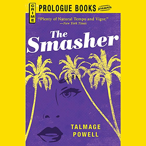 The Smasher audiobook cover art