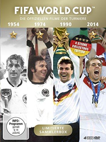 FIFA WORLD CUP 54 * 74 * 90 * 14 - Die offiziellen Filme der Turniere [4 DVDs]