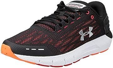 Under Armour mens 3021225 Running Shoe, Black (002 Orange Glitch, 14 US