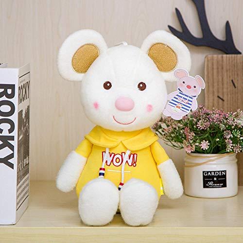 CPFYZH 30 / 80Cm Lindo Drapeado Ratón Muñeca Rata Año Mascota Pareja Muñeca Día de los niños Regalo de cumpleaños-50Cm