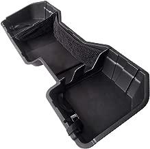 Tyger Auto Underseat Storage Box TG-CB5C2238 for 2014-2018 Chevrolet Silverado/GMC Sierra LD; 2015-2019 Silverado/Sierra HD Crew Cab   Black Textured Rear Under Seat Storage Organizer Cargo Box